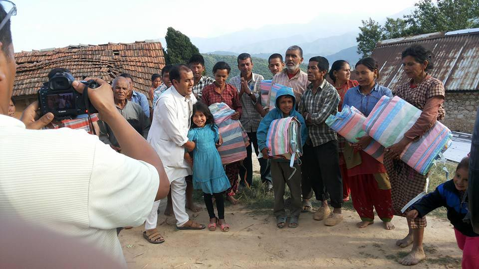 Earthquake in Nepal - Peace Service Center Disaster Aid
