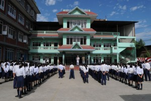 Hindu Vidyapeeth Schools - Morning Assembly